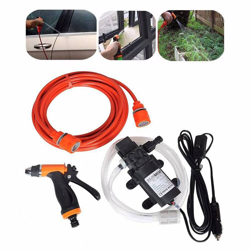 12V60wmicro High Pressure Water Cleaning Automotive Beauty Shop Self-Service Car Washer