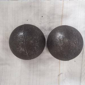 Grinding steel ball with high chrome alloyed material