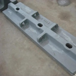 OEM High Manganese Steel Ball Mill Spare Parts Mill Plate Liner