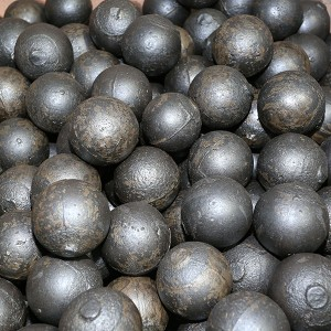 Antiwear cast iron balls Wear-resistant steel ball for mining and cement