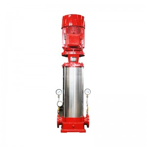 multi-stage pipeline fire-fighting pump