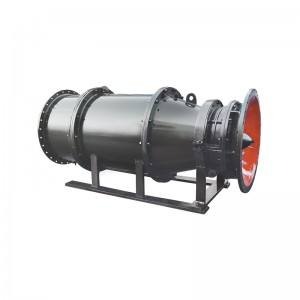 SUBMERSIBLE TUBULAR-TYPE AXIAL-FLOW PUMP-Catalog