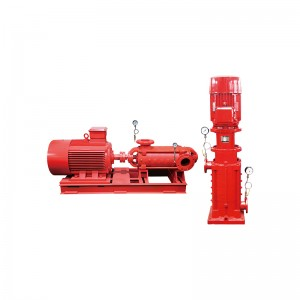 multistage fire-fighting pump group