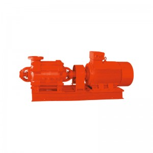 horizontal multi-stage fire-fighting pump