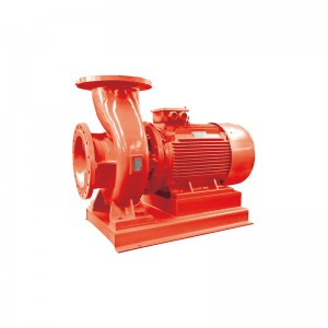 horizontal single stage fire-fighting pump group