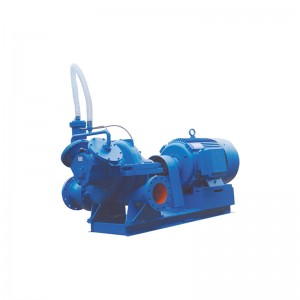 split casing self-suction centrifugal pump