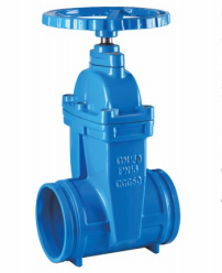 Z85X Grooved Non rising stem resilient seated gate valve