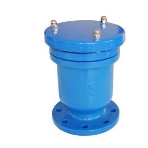 Suction Cylindrical Flange Automatic Quick Exhaust Valve