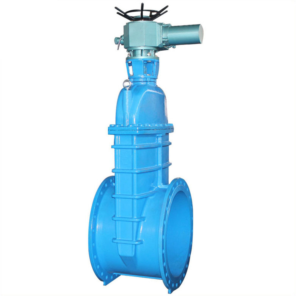 Large Caliber Electric Soft Sealed Gate Valve Featured Image