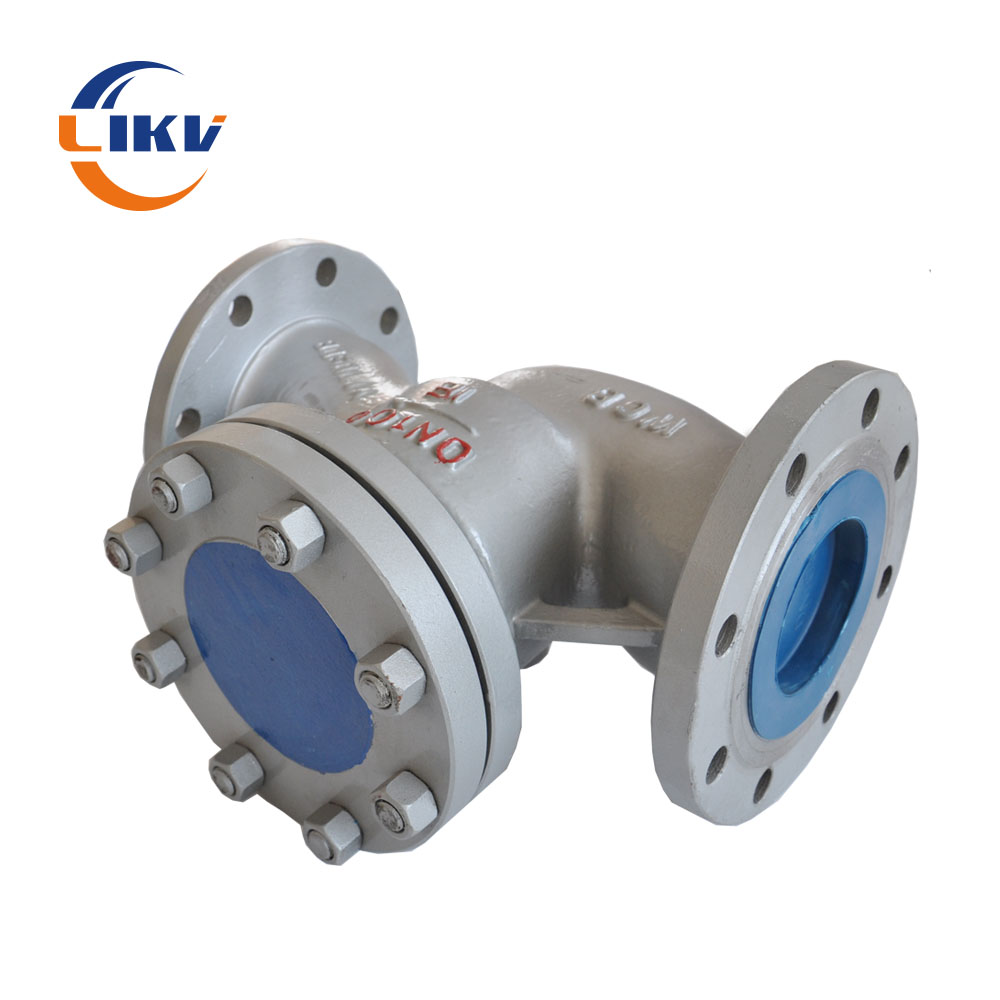 "Special Design for Dn40 1.5 4 Inch Globe Valve - Wholesale OEM 6"" Hastelloy C 276 Casting 900lb Pressure Flanged Lift Check Valve For Acid – Like Valve detail pictures"