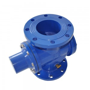 self operated flow pressure control valve