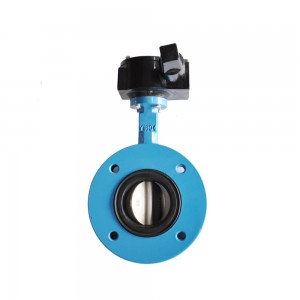 Bottom price China Factory Supply Resilient Seat Cast Iron Body Wafer Butterfly Valve