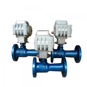 Electric high temperature ball valve