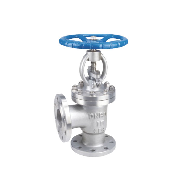 J44h / y angle flange globe valve Featured Image