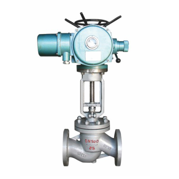 J941h electric flange globe valve Featured Image