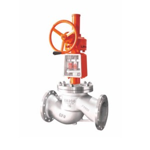 Jy41w stainless steel oxygen stop valve