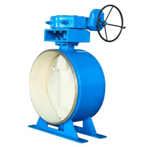 Welded metal hard seal butterfly valve