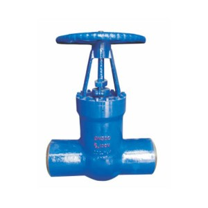 Z60y high temperature and high pressure welding gate valve