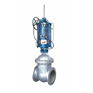 Z641T/H pneumatic hard seal gate valve