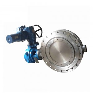 Electric Flange Hard Sealed Butterfly Valve