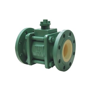 Manual ceramic ball valve