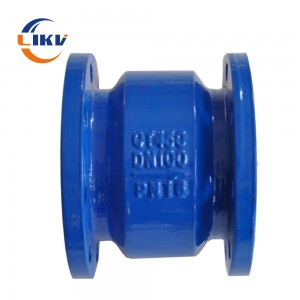 Energy conservation silent check valve