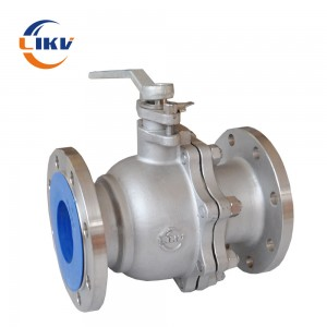 Flanged Soft Sealed Ball Valve Q41F