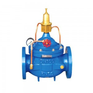 Factory Price China Stainless Steel Automatic Water Flow Control Valve