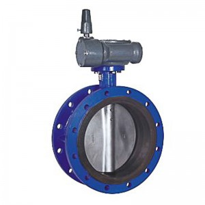 Factory Price Metal Seat Check Valve - Factory Promotional Covna Dn80 3 Inch Pn16 24 Volt Epdm Rubber Seat Double Flange Type Ductile Iron Motor Operated Butterfly Valve – Like Valve