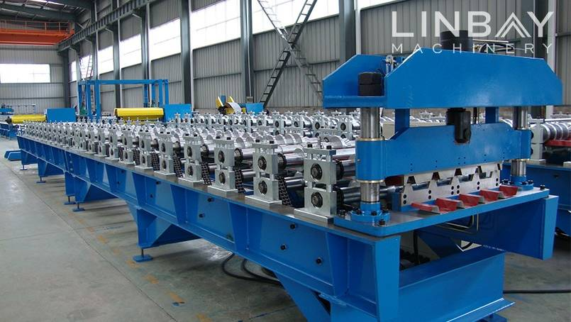 Hot Sale For Rolling Mill Line Corrugated Panel Roll Forming Machine Linbay Machinery China Wuxi Linbay Machinery