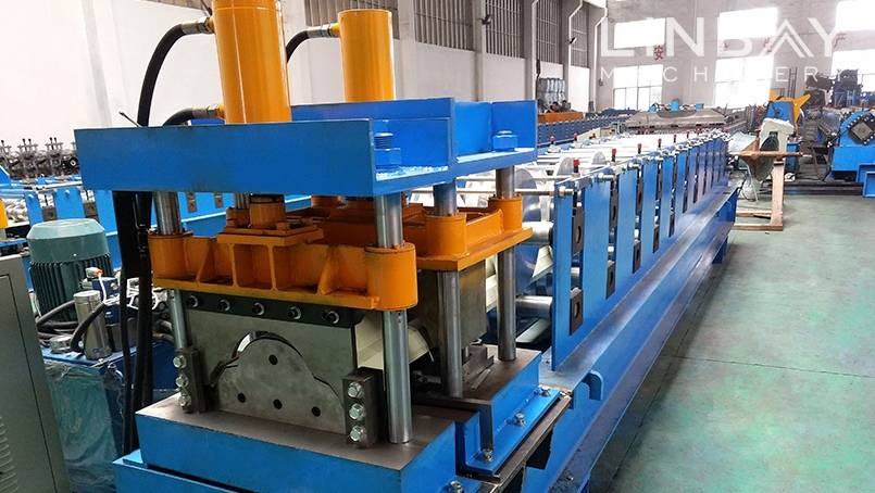 Ridge Cap roll forming machine Featured Image