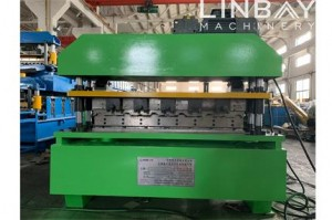 LINBAY-Export Corrugated Roof Panel Roll Forming Machine to Indonesia