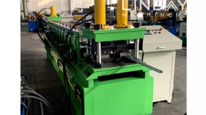 Din Rail Roll Forming Mahchine