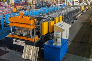Floor deck TR80 roll forming machine