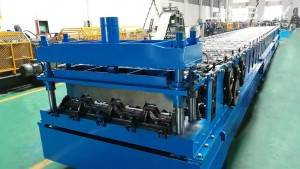 kim loại deck Roll Forming Machine