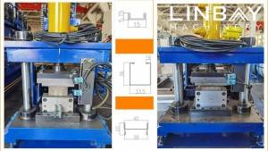 Scissor Gate Roll Forming Machine