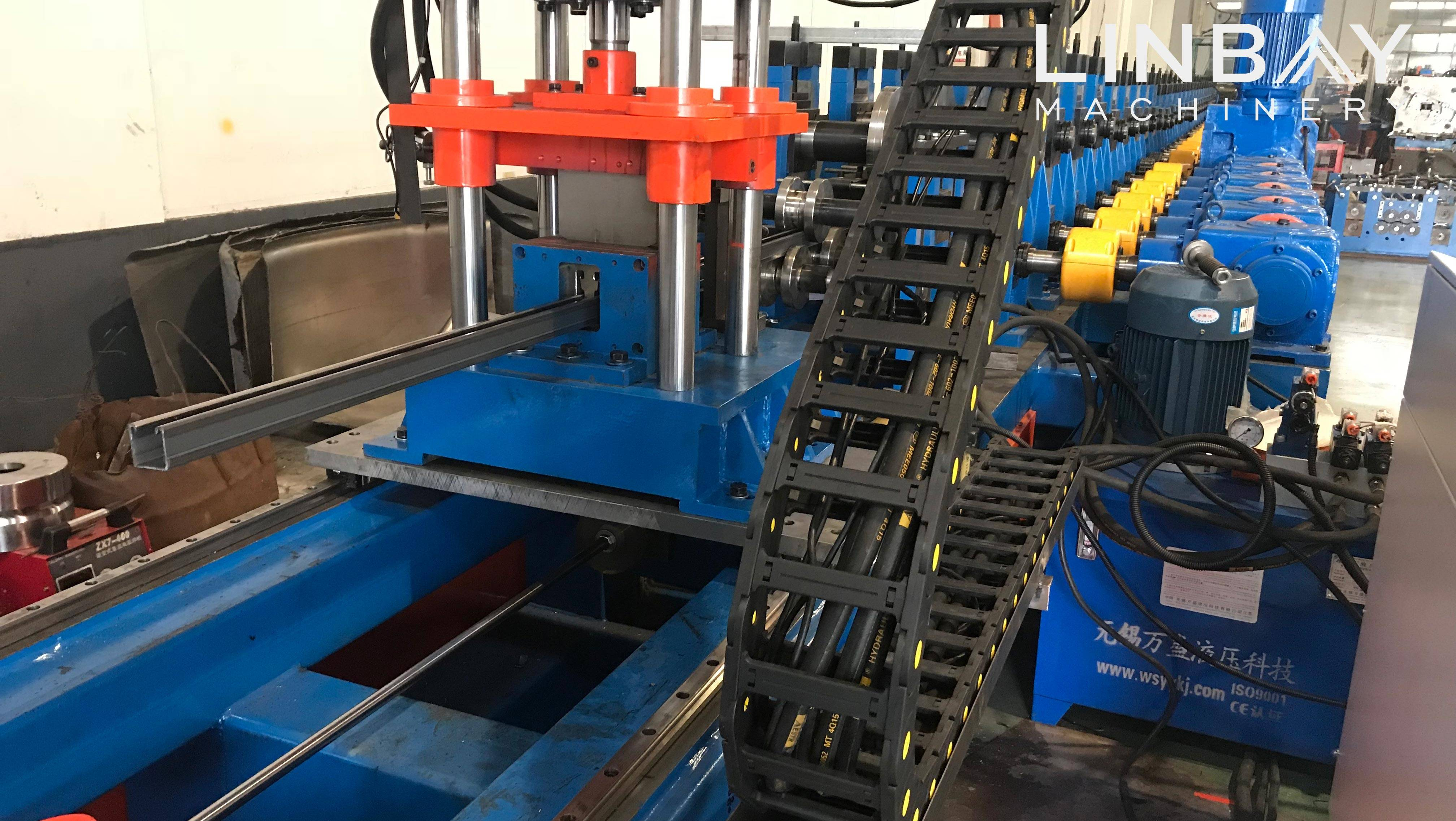 Strut and Rail Roll forming machine