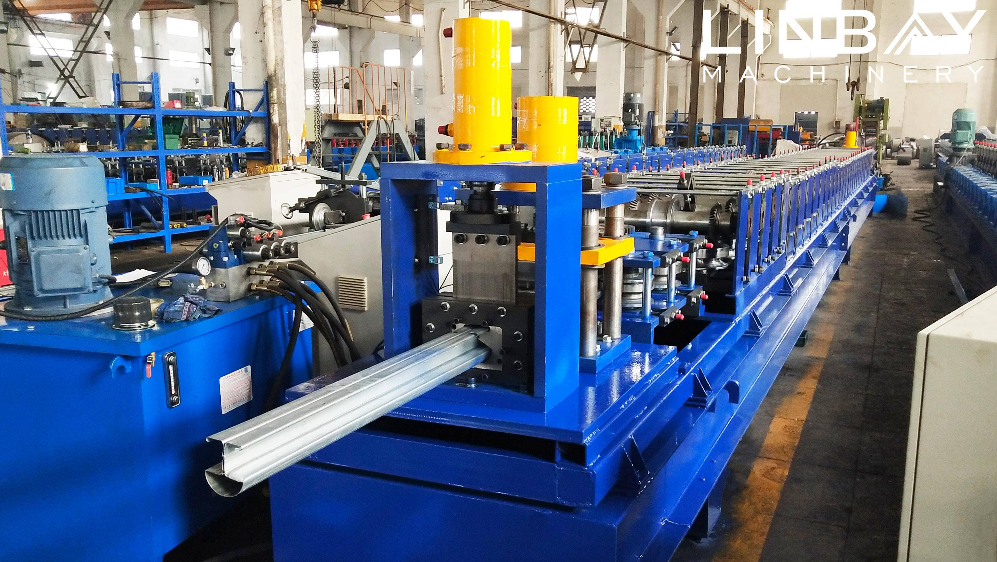 Wire Mesh Fence Post Roll Forming Machine Featured Image