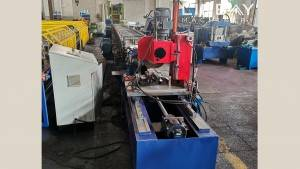 Wire Mesh Fence Post Roll Forming Machine