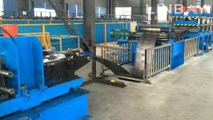 Cable Tray roll damezrandina machine