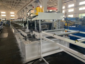 Linbay- Export cable tray/cable ladder roll forming machine to Indonesia