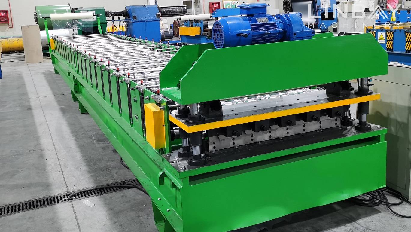 Corrugated Roof Panel Roll Forming Machine Featured Image