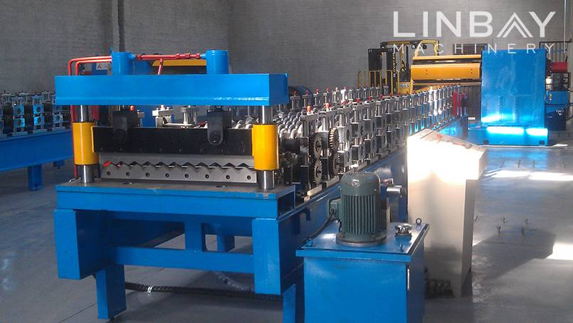 Trapezoidal Roof Panel Roll Forming Machine Featured Image