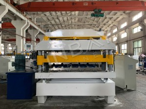 LINBAY-Export Double Layer Roof Panel Machine to Iraq