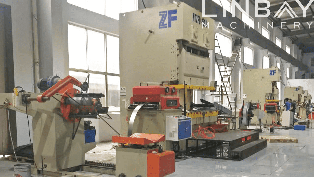 Highway Guardrail Spacer Block Roll Forming Machine Featured Image