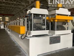 LINBAY-HQTS palapala o ka inspection exporting roll form machine i Iraq