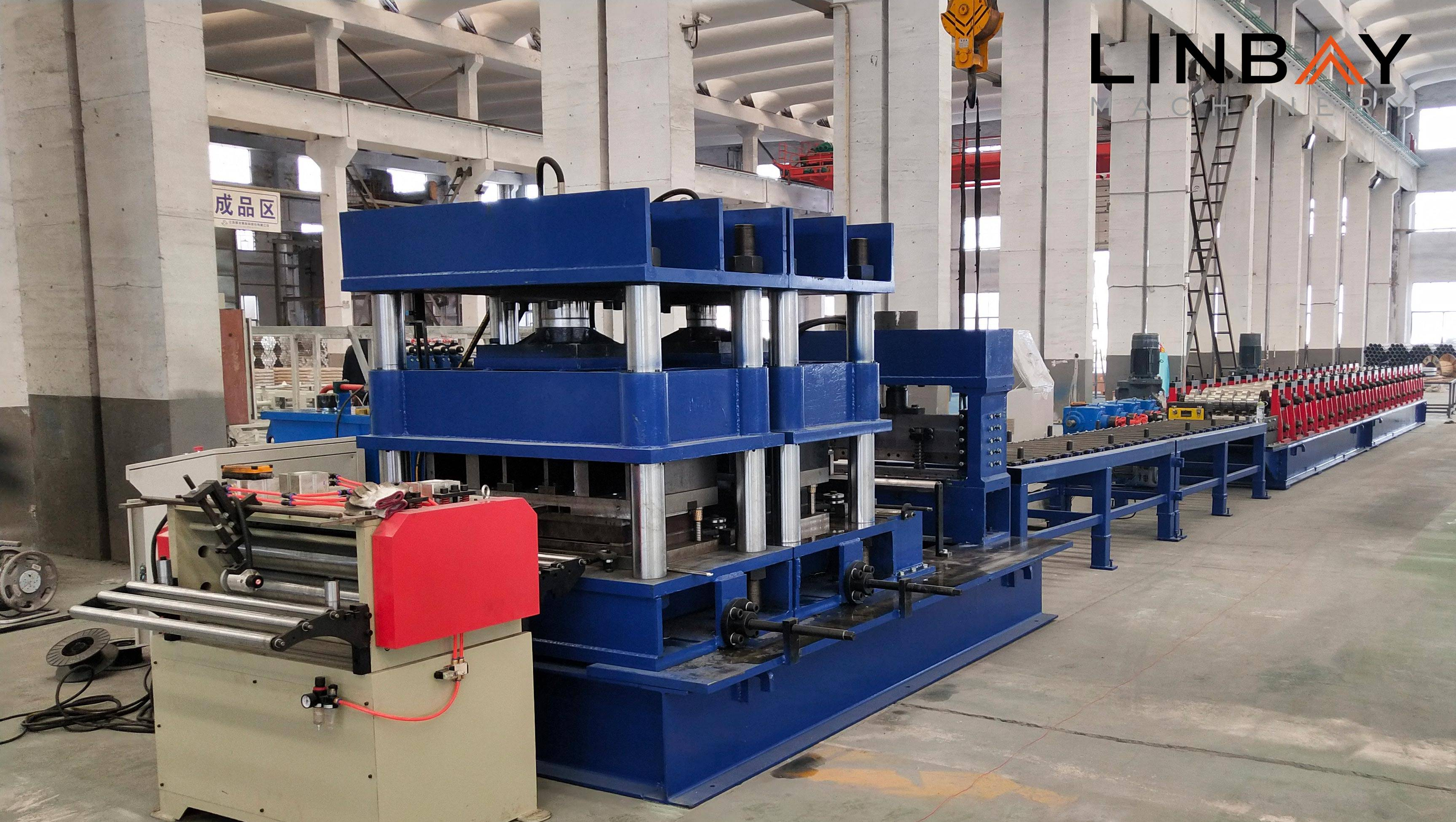 Highway Guardrail Roll Forming Machine Featured Image