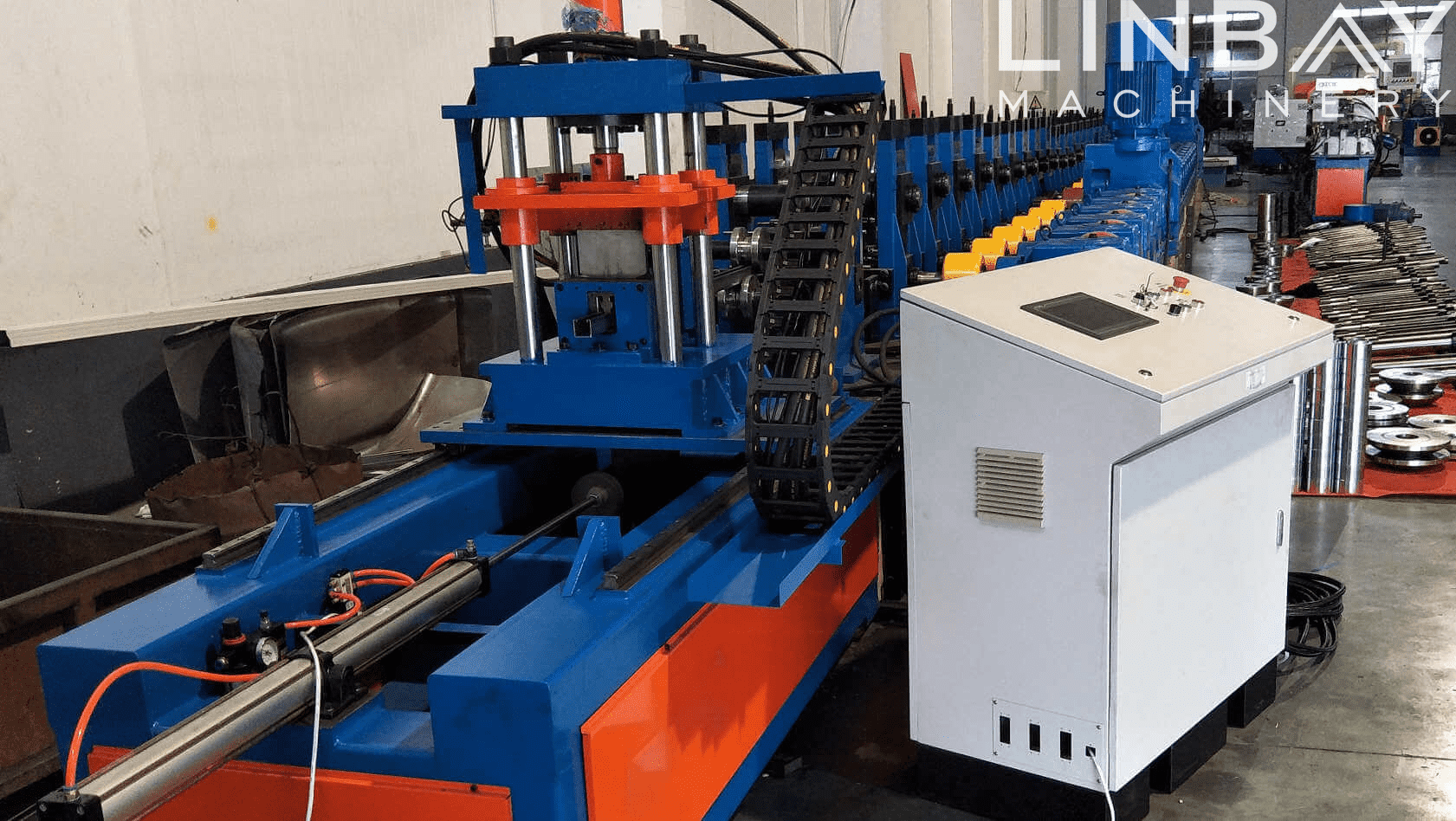 Octagonal Tube Roll Forming Machine Featured Image