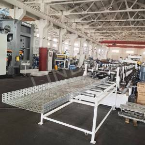 LINBAY – Export cable tray roll forming machine to Saudi Arabia