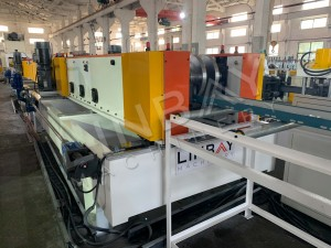 LINBAY-Export Cable Tray Machine to Iraq